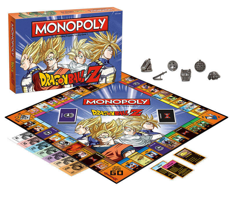 dragon ball monopoly