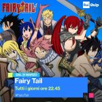 Oggi in TV: torna Fairy Tail ma cambia emittente!